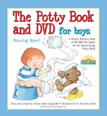 The Deluxe Potty Book and DVD Package for Boys: Henry Edition by Alyssa Satin Capucilli