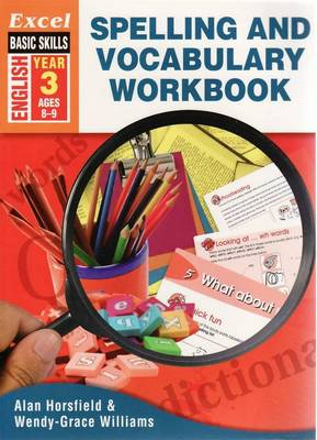 Spelling and Vocabulary Workbook: English - Year 3 book