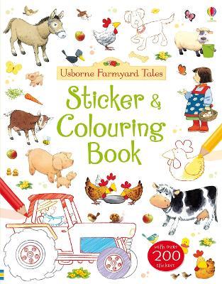 Farmyard Tales Colouring and Sticker Book book