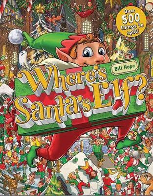 Where's Santa's Elf? book