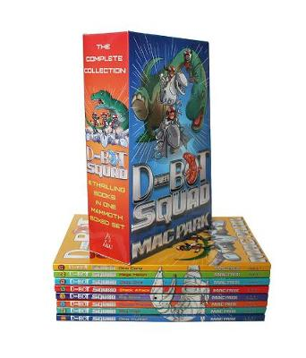 D-Bot Squad Complete Collection (Slipcase) by James Hart