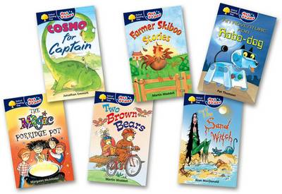 Oxford Reading Tree: All Stars: Pack 1: Pack (6 Books, 1 of Each Title) by Martin Waddell