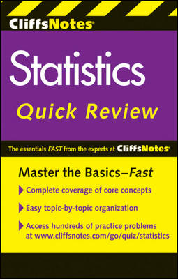 CliffsNotes Statistics Quick Review by David H. Voelker