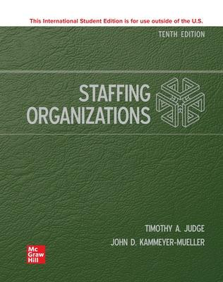 ISE Staffing Organizations book