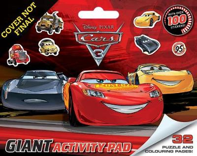 Giant Activity Pad: Disney Cars 3 book