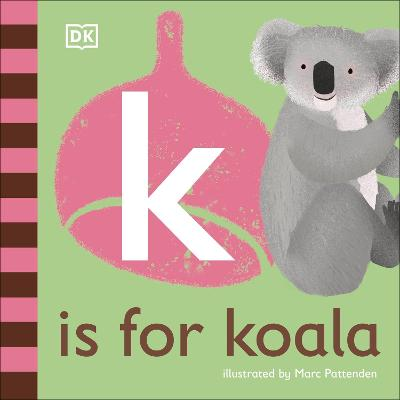 K is for Koala book