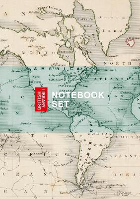 British Library Maps Notebook Set by British Library