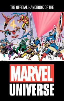 Official Handbook Of The Marvel Universe Omnibus by Mark Gruenwald