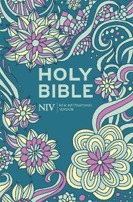 NIV Pocket Floral Hardback Bible by New International Version