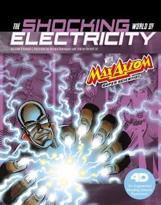 Shocking World of Electricity with Max Axiom Super Scientist book