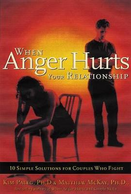 When Anger Hurts Your Relationship by Kim Paleg