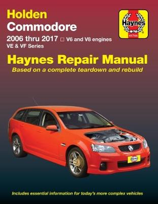 HM Holden Commodore VE VF Petrol 2006-17 by Haynes