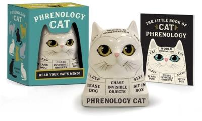 Phrenology Cat: Read Your Cat's Mind! by Marlo Scrimizzi