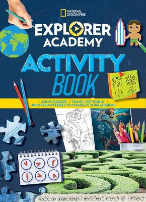 Explorer Academy Sticker Book by National Geographic Kids