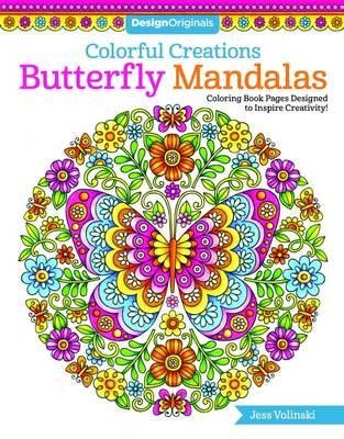 Colorful Creations Butterfly Mandalas by Jess Volinski