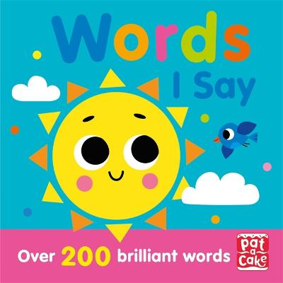 Words I Say book