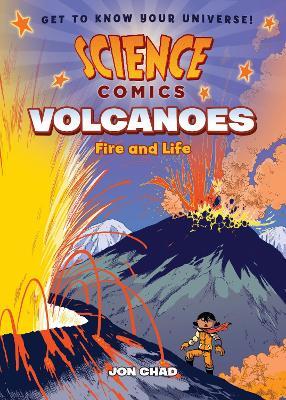 Science Comics: Volcanoes book
