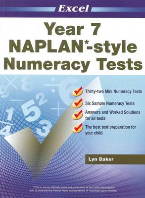 NAPLAN-style Numeracy Tests: Year 7 by Lyn Baker