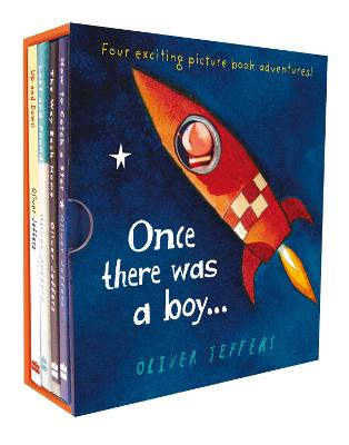 Once there was a boy...: Boxed set by Oliver Jeffers