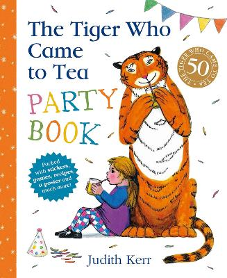 The Tiger Who Came to Tea Party Book by Judith Kerr