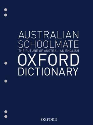 Australian Schoolmate File Dictionary by Mark Gwynn