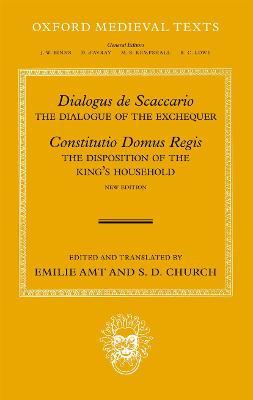 Dialogus de Scaccario, and Constitutio Domus Regis by S. D. Church