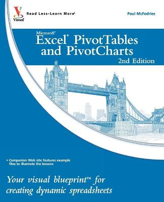 Excel PivotTables and PivotCharts by Paul McFedries