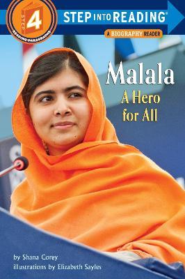 Malala A Hero For All Step into Reading Lvl 4 by Shana Corey