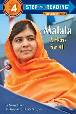 Malala A Hero For All Step into Reading Lvl 4 by Shana Corey