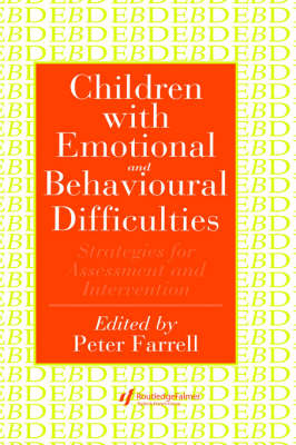 Children with Emotional and Behavioural Difficulties book