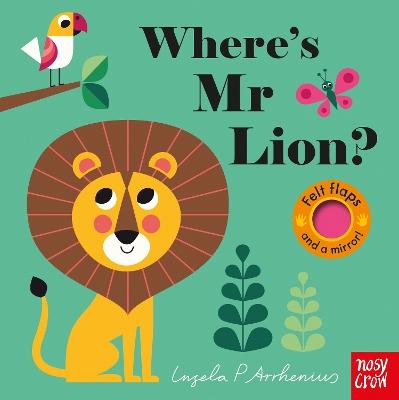 Where's Mr Lion? book