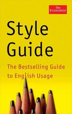 Economist Style Guide book