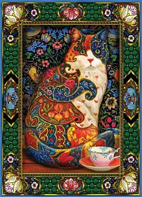 Painted Cat Jigsaw by Johnson Lewis T