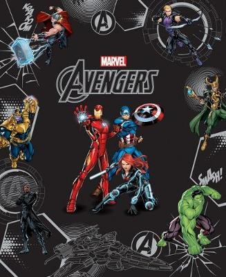 AVENGERS LEGENDS COLLECTION book