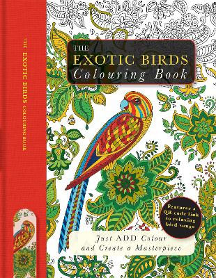 Exotic Birds Colouring Book by Beverley Lawson