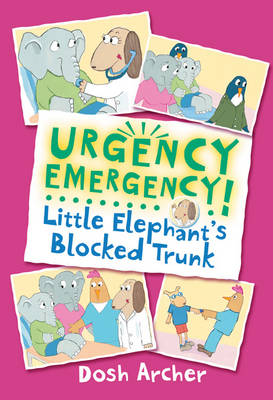 Little Elephant's Blocked Trunk by Dosh Archer