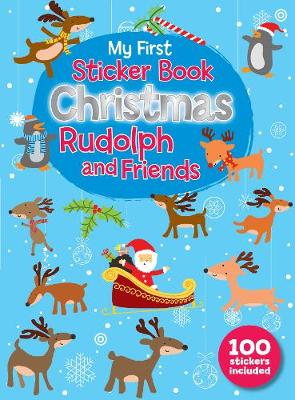 Christmas Sticker Book Rudolph and Friends by