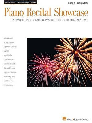 Piano Recital Showcase  Bk. 1 by Phillip Keveren