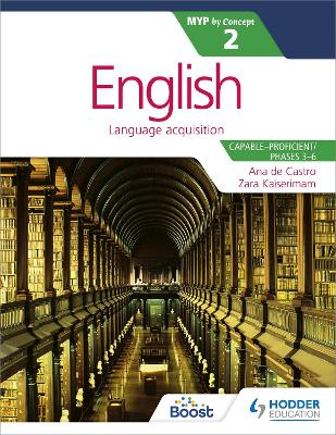 English for the IB MYP 2 book