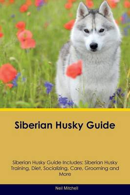 Siberian Husky Guide Siberian Husky Guide Includes: Siberian Husky Training, Diet, Socializing, Care, Grooming, Breeding and More by Neil Mitchell