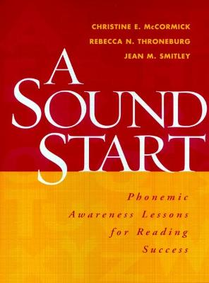 A Sound Start by Christine E. McCormick
