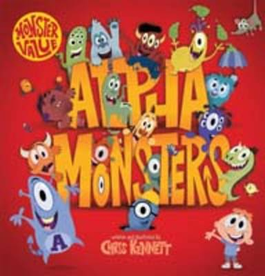Alpha Monsters by Chris Kennett