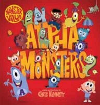 Alpha Monsters by Chris Kennett