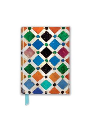 Alhambra Tile (Foiled Pocket Journal) by Flame Tree Studio