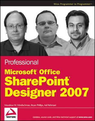 Professional Microsoft Office SharePoint Designer 2007 book