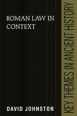 Roman Law in Context book
