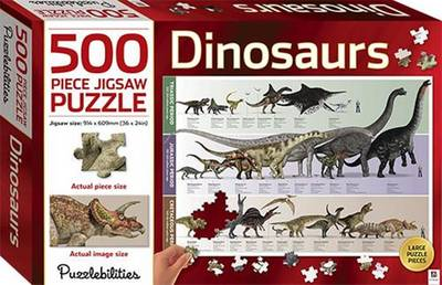 Dinosaurs 500 Piece Jigsaw Puzzle by