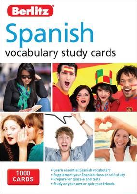 Berlitz Language: Spanish Vocabulary Study Cards by APA Publications Limited