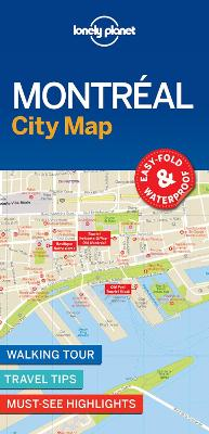 Lonely Planet Montreal City Map by Lonely Planet