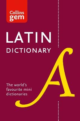 Collins Latin Dictionary Gem Edition book